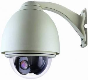 China 4X Optical Zoom Onvif PTZ CCTV Camera 720P Support iPhone / iPad on sale