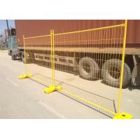 Quality Construction Temp Fence Panels 2100mm*2400mm OD 41.2mm Wall thick 1.6mm Mesh 60mm*150mm Diameter 4.00mm for sale