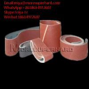 China Abrasive Belts, Sanding Belts ceramic, silicon, zirconia,aluminum miya@moresuperhard.com on sale