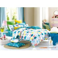 Queen / King Size Polyester Girls Bedroom Bed Sets Environmental Friendly Disperse Printing