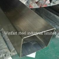 Quality OD 6mm - 660mm Stainless Steel Welded Pipe Square Cold Drawing 300 Series for sale