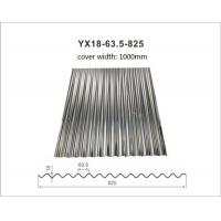 Buy cheap Hot Dipped Galvanized Corrugated Metal Roofing Tiles Thickness 0.14mm - 1.2mm product