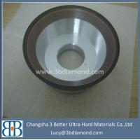 China CBN Diamond grinding wheel flat and bowl wheel on sale