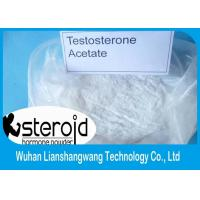 Testosterone Anabolic Steroid 99% Purity Testosterone Acetate CAS 1045-69-8  for Muscle Building