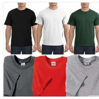 Quality Wholesale mens round neck custom screen printed tshirts for sale