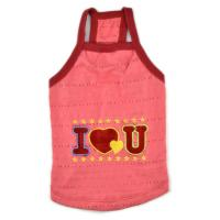 Quality pet clothes dog vest for summer days T-shirt cotton material for sale