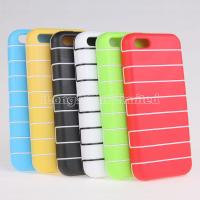 Buy cheap Ultra thin stripe tpu case for iphone 5c from wholesalers