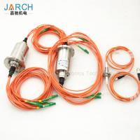 Buy cheap 360° Rotating Fiber Optic Rotary Joint Eight Channels With 850-1650nm Wavelength from wholesalers