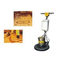 Quality Iron Handle Tile / Hard Floor Cleaning Machines floor scrubber 450mm 1500W for sale