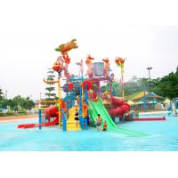 Quality Jungle Gym Outdoor Water Playground Equipment 15kW Power For Amusement Park for sale