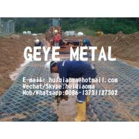 Quality HDPE Oil Drilling Rig Ground/Floor Mats, Portable Roadway Mats, Temporary Road Surfaces for sale