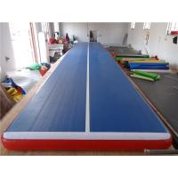 Quality Professional Lightweight Inflatable Air Track Gym Mat Water Resistant for sale