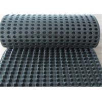 Quality Black/white/green friendly Dimple Plastic Drainage Board Earthwork Products Composite Drainage Board in China for sale
