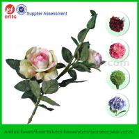 "China 23.5"" Decorative Artificial Flower Rose Branch on sale"