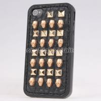 Quality 3D Punk Spike Rivet Case For iPhone 4/4S for sale