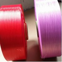 Quality 100% Nylon6 Dope Dyed Yarn 630D ,  FDY Industrial Yarn High Temperature Resistant for sale