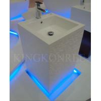 Pedestal Bathroom Sinks on Style Artificial Stone Marble Pedestal Bathroom Sink Hand Wash Basin