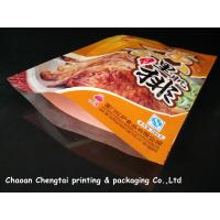 Quality Custom Meat Packaging Retort Pouch / Heat Sealable Pouch Food Grade For Sauce for sale