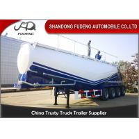 Quality 50-65 Cubic Meters W Shape  And  V Shape Bulk Cement Tank Trailer Selling for sale