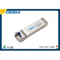 10G date rate SFP BIDI TX1270nm / RX1330nm 20km Simplex LC connector for sale