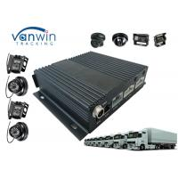 Buy cheap Free CMS software GPS Mobile DVR , CCD cameras 3G WIFI Car DVR product