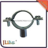 Quality M8+10 Nut Cast Iron Pipe Clamps For Pipe Connection , Pipe Clamp Bracket for sale