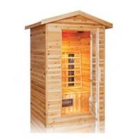 Buy cheap 3person outdoor infrared sauna cabin product