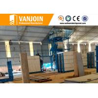 China Lightweight precast concrete wall panels construction material machinery on sale