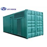 Buy cheap Quiet 1100kVA Cummins Diesel Generator Fuel Consumption Low Noise product