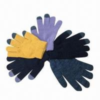 Quality Winter gloves for touch panels such as iPhone or iPad for sale