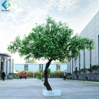 Custom Size Artificial Tree Plant , Lobby Decoration Use Fake Osmanthus Tree for sale