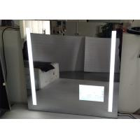 Led Hotel / Bathroom Frameless Mirror TV High Resolution With Wide View Angle