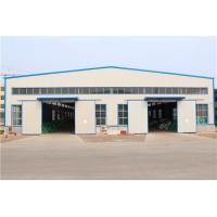 Gable Frame Light Metal Structural Steel Warehouse / Large Span Plant Buildings