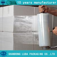 Quality 4 rolls hand colored shrink wrap/pallet wrap film for sale