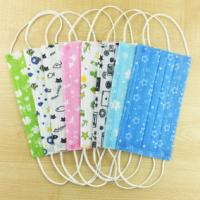 China Cute Cartoon Disposable Mouth Mask ,  Printed Surgical Face Masks Fashion Designer on sale