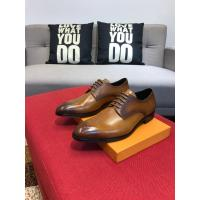 China Louis Vuitton 2019 Men's Brown Leather Dress Business Shoes on sale
