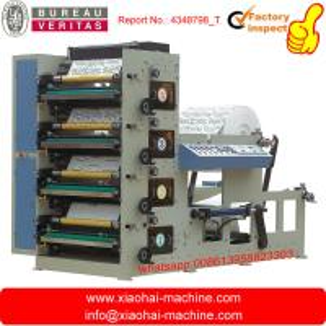 Máquina impresora flexografía con cinco colores RY-650/850