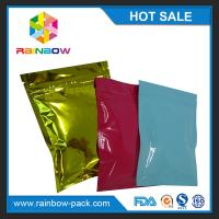 Buy cheap Custom printed foil laminated mini ziplock mylar bag for medicine pills tamper evident zip lock plastic bags product