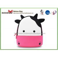 Cheap Animal Cow Kids Carry On Luggage / Waterproof Toddler Luggage REACH wholesale