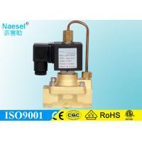 Quality Piloted Operated Diaphragm High Pressure Solenoid Valve 3 / 8 BSPP NPT 5 MPA 725PSI for sale
