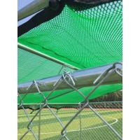 Buy cheap Galvanized Wire Outside Dog Cages For Large Dogs / Fully Enclosed Dog Kennel from wholesalers