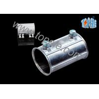 Quality Custom Electrical Conduit Fittings Zinc EMT Coupling Used Indoors And Outdoors for sale
