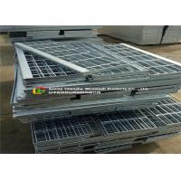 Quality Durable Galvanised Stair Treads38mm Width , Building Metal Treads For Steps for sale