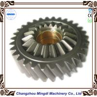Quality Brass Metal 1 - 22M Steel Spur Gear Transmission Parts For Toyota Car , HRC45-62 for sale