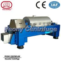 Buy cheap Automatic  Decanter Centrifuge / Centrifuge Filter System For Calcium Hypochlorite Dewatering product