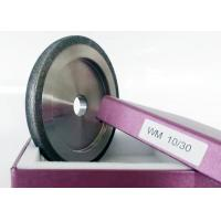 China 10 / 30 Size CBN Sharpening Wheels For Wood Mizer Flat Shaped High Performance on sale