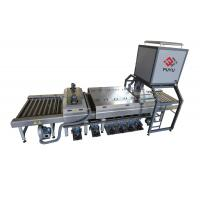 Quality PLC Glass Washer And Drying Machine With Energy Saving Switch for sale