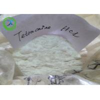 Buy cheap 136-47-0 White powder Tetracaine hydrochloride , Local anesthetic Tetracaine HCl product