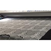 Quality 100% nylon lace Laser Cutting Machine for Knitted Lace Fabric Edges JHX-160100 S for sale