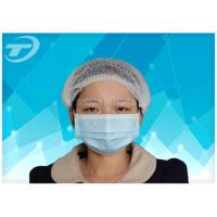 Quality Customized Disposable surgical Non-woven 3 ply face mask tie on Anti Pollution for sale